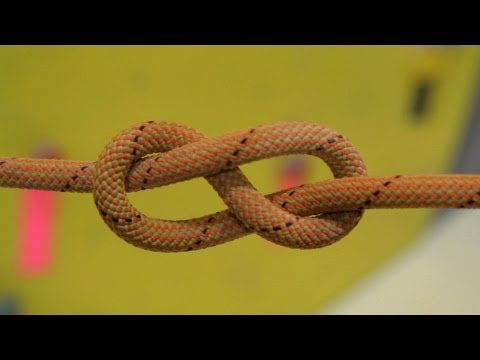 How to Tie Figure 8 Follow-Through Knot   Rock Climbing