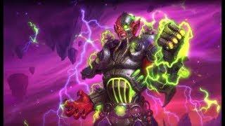 [Hearthstone] New hero Mecha-Jaraxxus emotes. The Boomsday Project.