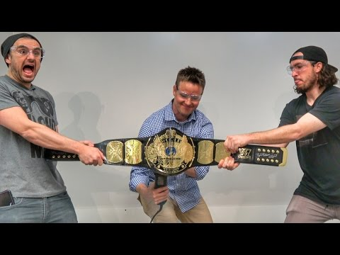 What's inside a WWE Wrestling Belt?
