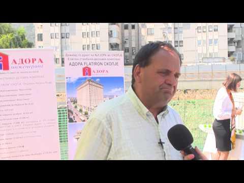 Cifliganec za Netpress: Adora Fletajron Skopje najgolema investicija vo visokogradbata