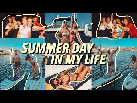 SUMMER DAY IN MY LIFE \\ Kristina Johnson thumbnail