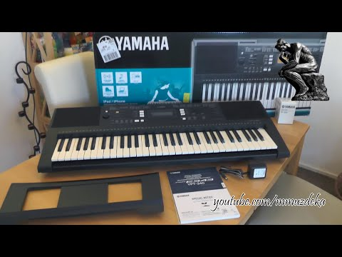 yamaha psr e243 keyboard unboxing mp3 download