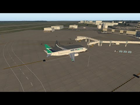 X-Plane 11 | Edmonton to Calgary | Full Flight
