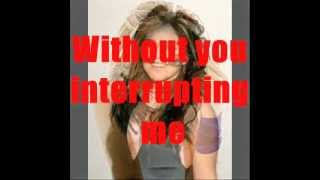 Kelly Clarkson Addicted with Lyrics by Jr