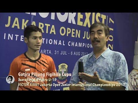 Kamus Bulutangkis -  Victor Exist Jakarta Open Junior International Championship 2017