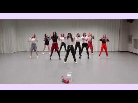 [Mirrored] 프로미스나인 Fromis 9 - 'LOVE BOMB' Mirrored Dance Practice 안무영상 거울모드