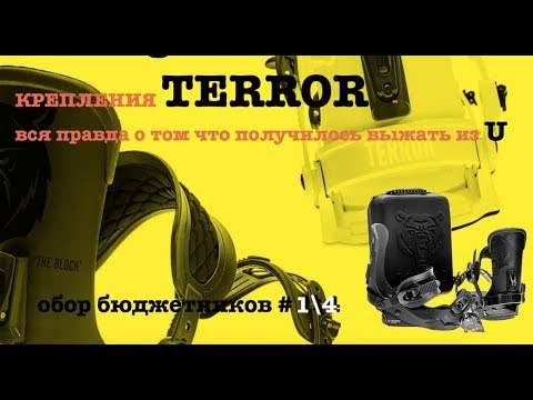 Terror - вся правда о креплениях Block 2020 - начало конца Union?
