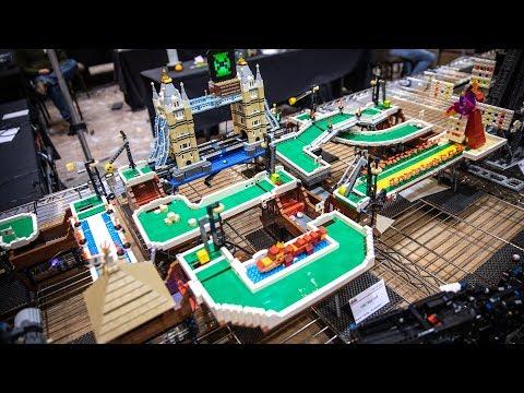 LEGO Great Ball Contraption Mini-Golf Modules!