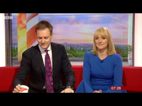 BBC Breakfast - Swapping presenters - 010217