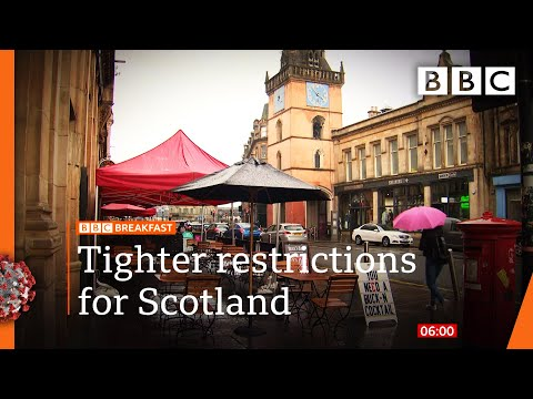 Covid: New Scottish virus restrictions to be announced @BBC News LIVE on iPlayer 🔴 - BBC