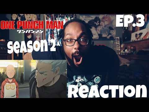MONSTER INSIDE AND OUT! ONE PUNCH MAN SEASON 2 EPISODE 3 REACTION