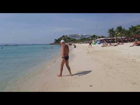 Beautifull Samae Beach of Koh Larn Island, Pattaya Dec '17
