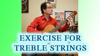 Duet Exercise for Treble Strings (Classical Guitar)