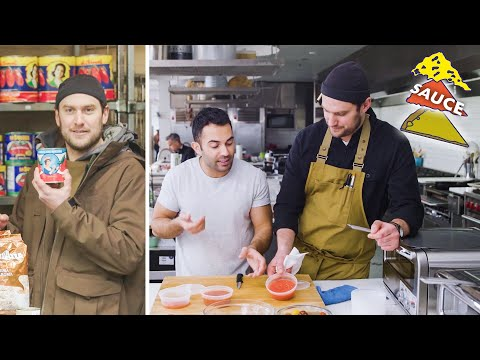 Brad and Andy Try to Make the Perfect Pizza Sauce   Making Perfect: Episode 2   Bon Appétit