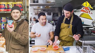 Download Brad and Andy Try to Make the Perfect Pizza Sauce | Making Perfect: Episode 2 | Bon Appétit Mp3 and Videos