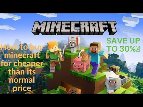 How to buy minecraft Java Edition for cheaper than its normal price