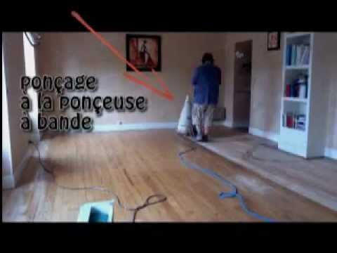 Youtube ponceuse parquet