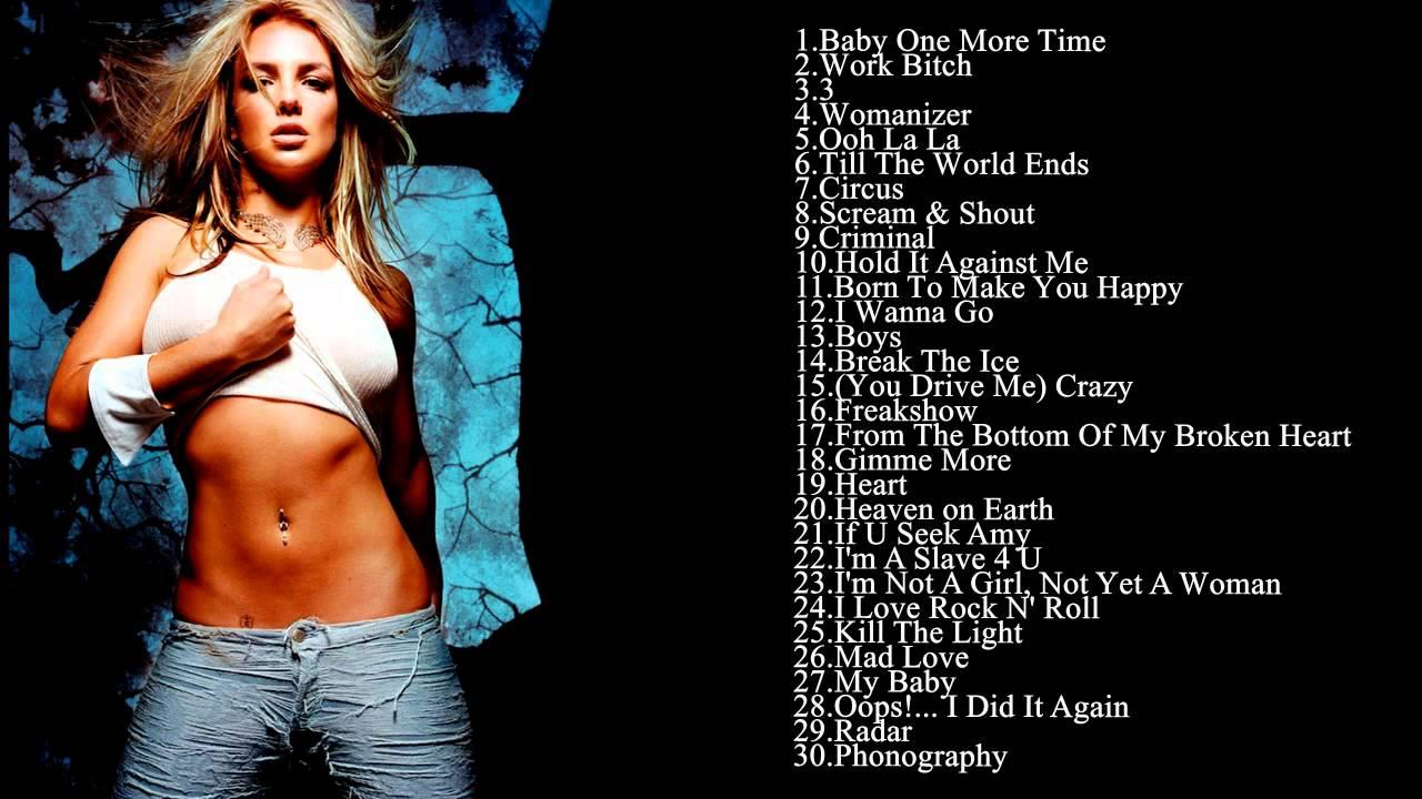 Best Songs Of Britney ...