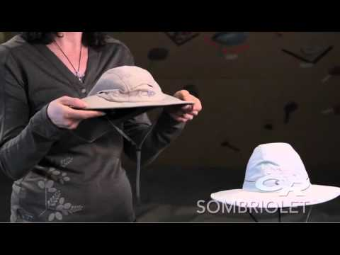 b1df1a15 Outdoor Research Sombriolet Sun Hat - YouTube