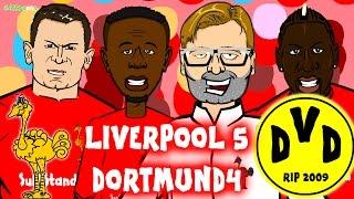 Liverpool vs Borussia Dortmund 5-4 (4-3 Europa League Quarter Final Comeback Goals Highlights 2016)