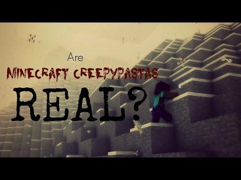 Are Minecraft Creepypastas REAL?