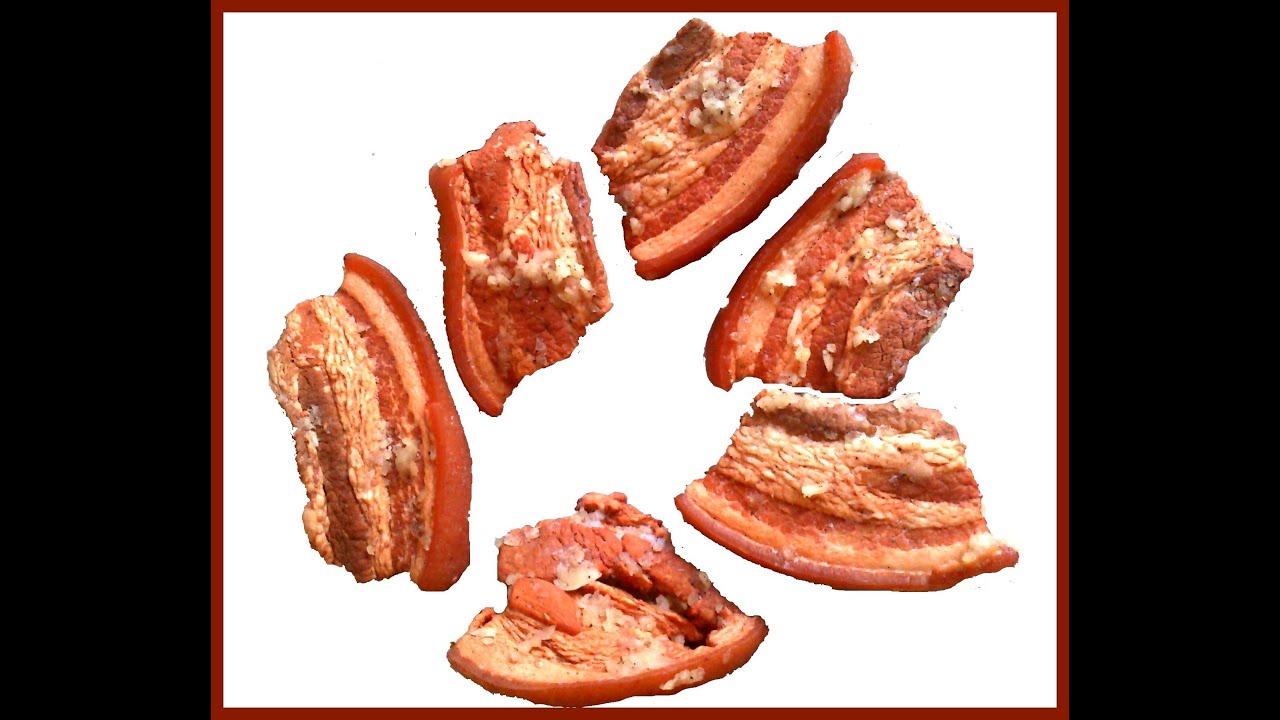 Как варить соленое сало в луковой шелухе