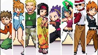 Pokémon HeartGold & SoulSilver - All Kanto Gym Leader Rematch (Fighting Dojo)