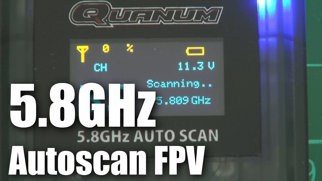 Quanum 5.8GHz autoscan FPV video receiver (part …