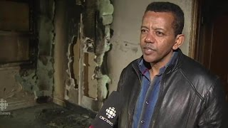 Peterborough residents respond to mosque arson