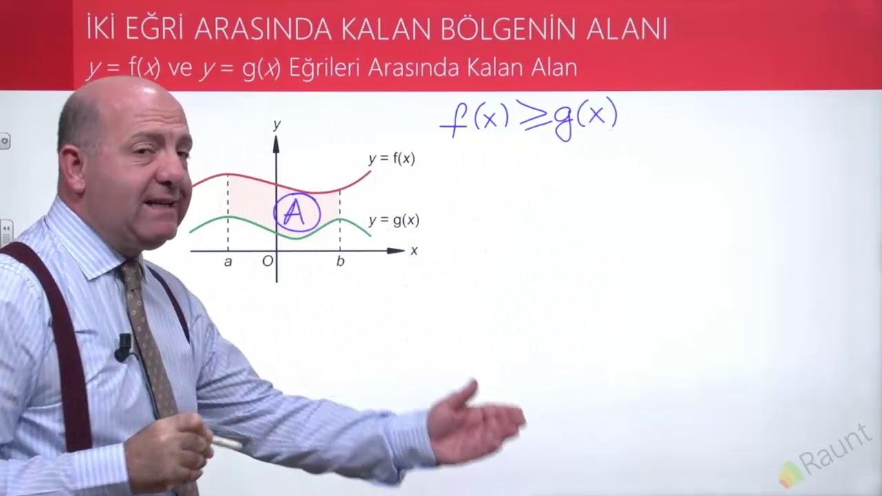 İki Eğri Arasında Kalan Bölgenin Alanı |TYT-AYT Matematik Konu Anlatımı