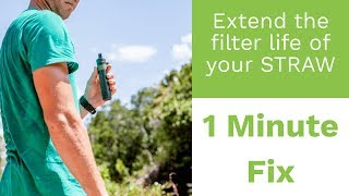 Survivor Filter Personal Straw Triple Absolute Water H2o Filtration System L600 for sale online