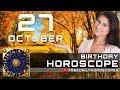 October 27 - Birthday Horoscope Personality
