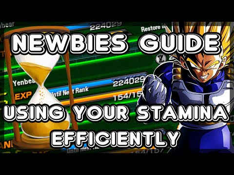 How To Get OPTIMAL Stamina Usage - 2019 Dokkan Battle Beginn