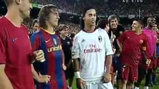 Barcelona 3 x 1 Milan Penaltis Torneio Joan Gamper 25/08/10 (Barcelona 1 x 1 Milan) thumbnail