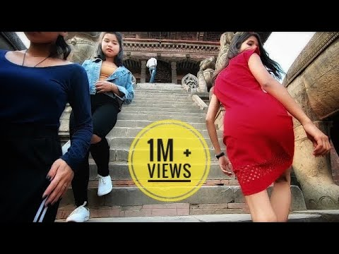 How to speak in Hindi with a Nepali Girl || Bhaktapur Durbar Square ||
