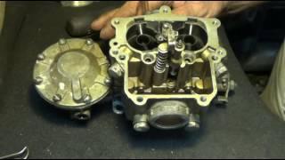 видео Устройство, регулировка и ремонт карбюратора автомобиля ГАЗ-3307