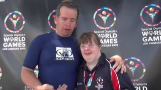 #TEAMSOGB's Steven Dodd and Kathryn Smith talk about Unified Kayaking, teamwork and Special Olympics