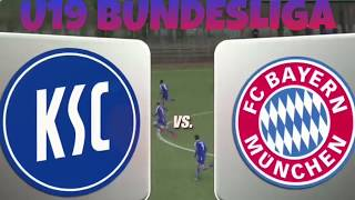 Karlsruher SC–FC Bayern München (U19 Bundesliga 2017-2018)