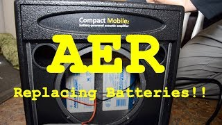 Video REPLACING BATTERIES IN THE AER COMPACT MOBILE AMP download MP3, 3GP, MP4, WEBM, AVI, FLV Juni 2018