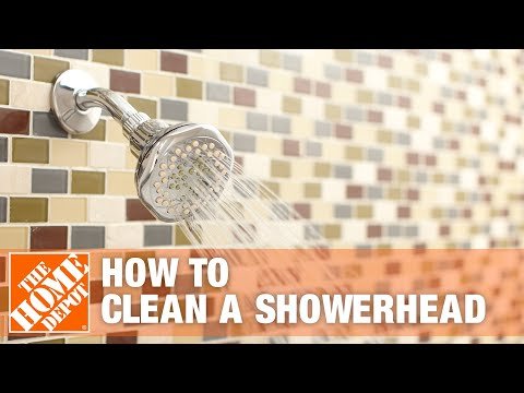 How to Clean a Showerhead | The Home Depot