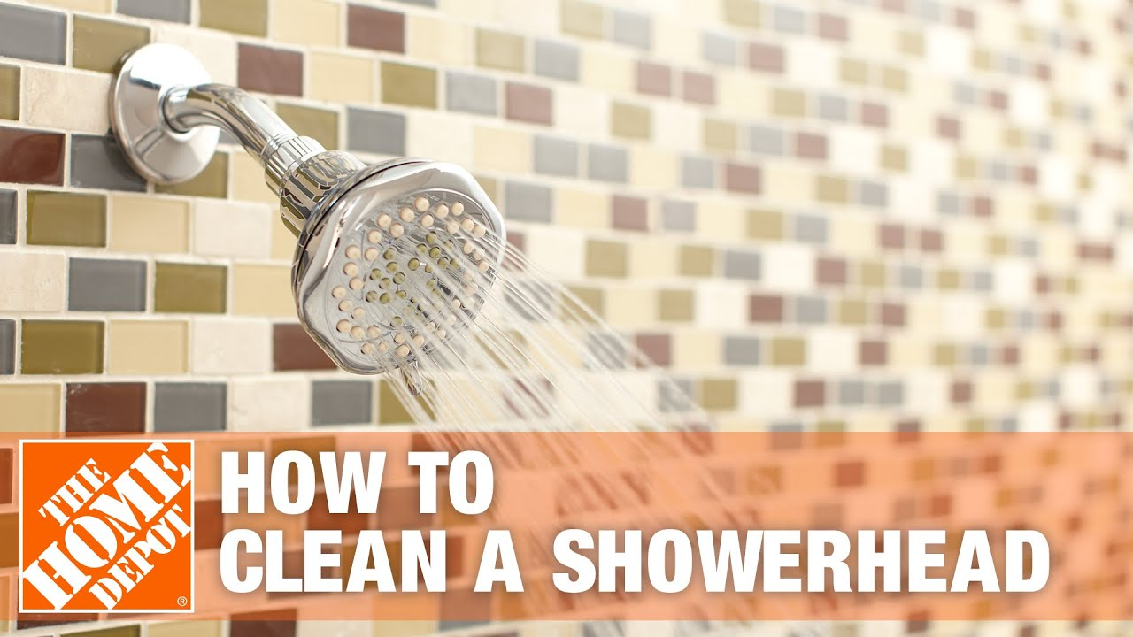 How To Clean A Showerhead The Home Depot Youtube