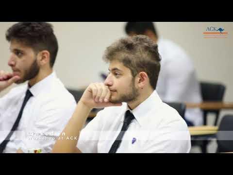 LinkedIn Workshop At The Australian College Of Kuwait - November 21, 2017