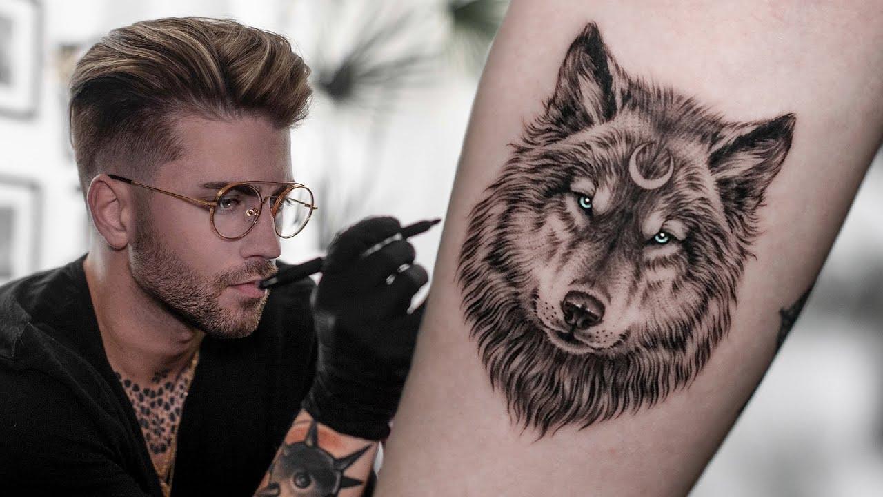 Micro Wolf Tattoo Time Lapse Daniel Silva
