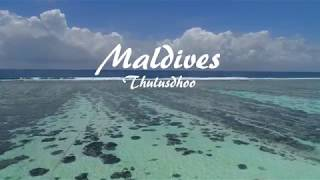 Drone footage of Maldives thulusdhoo | Surfing Cokes, Chickens