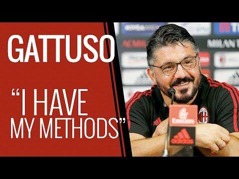 Coach gattuso's press conference