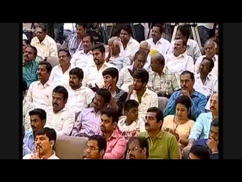 Dr. Anbumani Ramadoss Speech about New Urban Agenda for Chennai Metropolitan Area - 16.03.2016