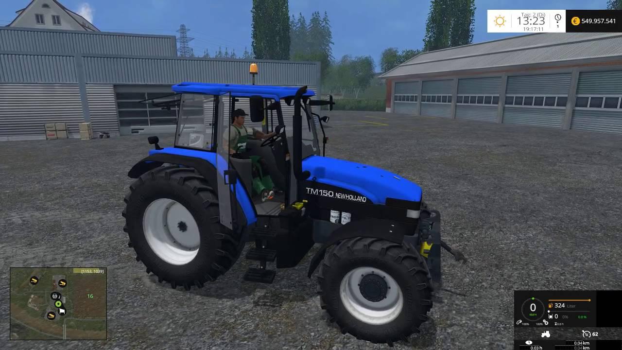 Mod Vorstellung Farming Simulator Ls15: New Holland TM150