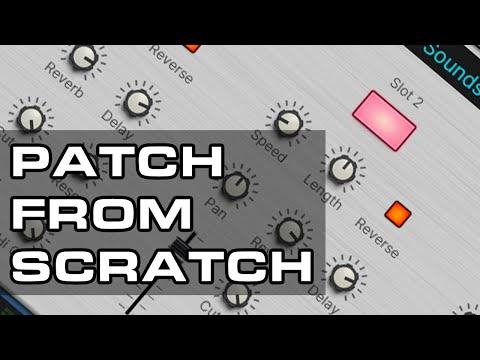 Combinator 2 Soundscape Generator - Patch from Scratch