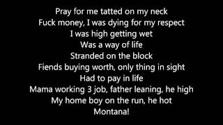 French Montana Sanctuary lyrics (Lyrics Video)