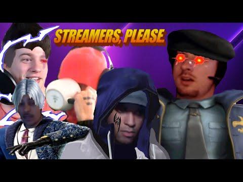 Streamers, Please....        *loud Lmao*
